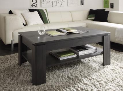 Couchtisch Wohnzimmertisch - DAV - 110 x 65 cm Esche Grau