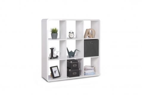 regale wei raumteiler hochglanz g nstig bei yatego. Black Bedroom Furniture Sets. Home Design Ideas