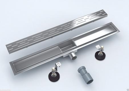 Duschrinne Siphon Dusch Badablauf Bodenablaufrinne -TOP- 80 cm