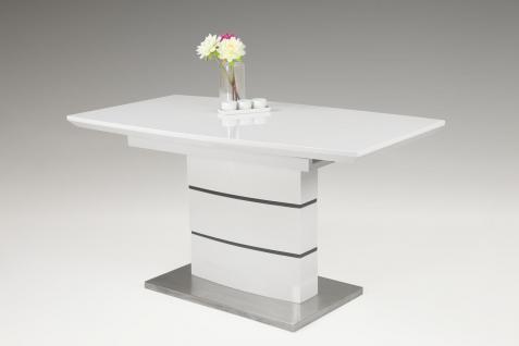 Esstisch Weiß 140 günstig online kaufen bei Yatego