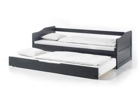 kiefer bett massiv 90x200 natur g nstig bei yatego. Black Bedroom Furniture Sets. Home Design Ideas