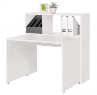 regal schreibtisch kombination g nstig bei yatego. Black Bedroom Furniture Sets. Home Design Ideas