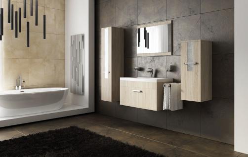 Badmöbel Set 5-Teilig Sonoma Eiche Badezimmerset -SIT- inkl.Waschtisch