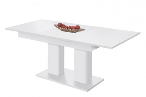 Esstisch tisch 140 x 140 cm g nstig online kaufen yatego for Esstisch ausklappbar
