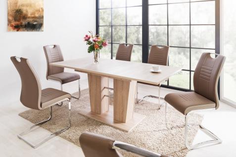 Tisch eiche 140 g nstig sicher kaufen bei yatego for Funktionstisch couchtisch