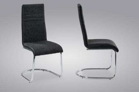 freischwinger stuhl schwarz g nstig online kaufen yatego. Black Bedroom Furniture Sets. Home Design Ideas