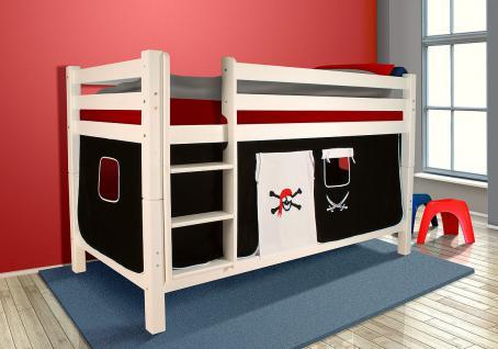 etagenbett weiss g nstig sicher kaufen bei yatego. Black Bedroom Furniture Sets. Home Design Ideas