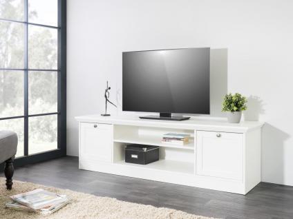 tv schrank weiss landhausstil g nstig online kaufen yatego. Black Bedroom Furniture Sets. Home Design Ideas