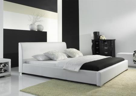doppelbett 180x200 wei online bestellen bei yatego. Black Bedroom Furniture Sets. Home Design Ideas