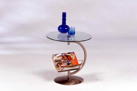 beistelltisch mit zeitungsablage g nstig bei yatego. Black Bedroom Furniture Sets. Home Design Ideas