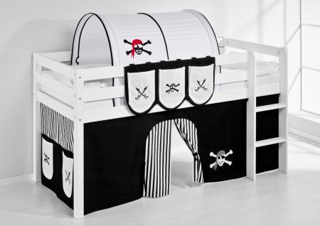 hochbett schwarz g nstig sicher kaufen bei yatego. Black Bedroom Furniture Sets. Home Design Ideas