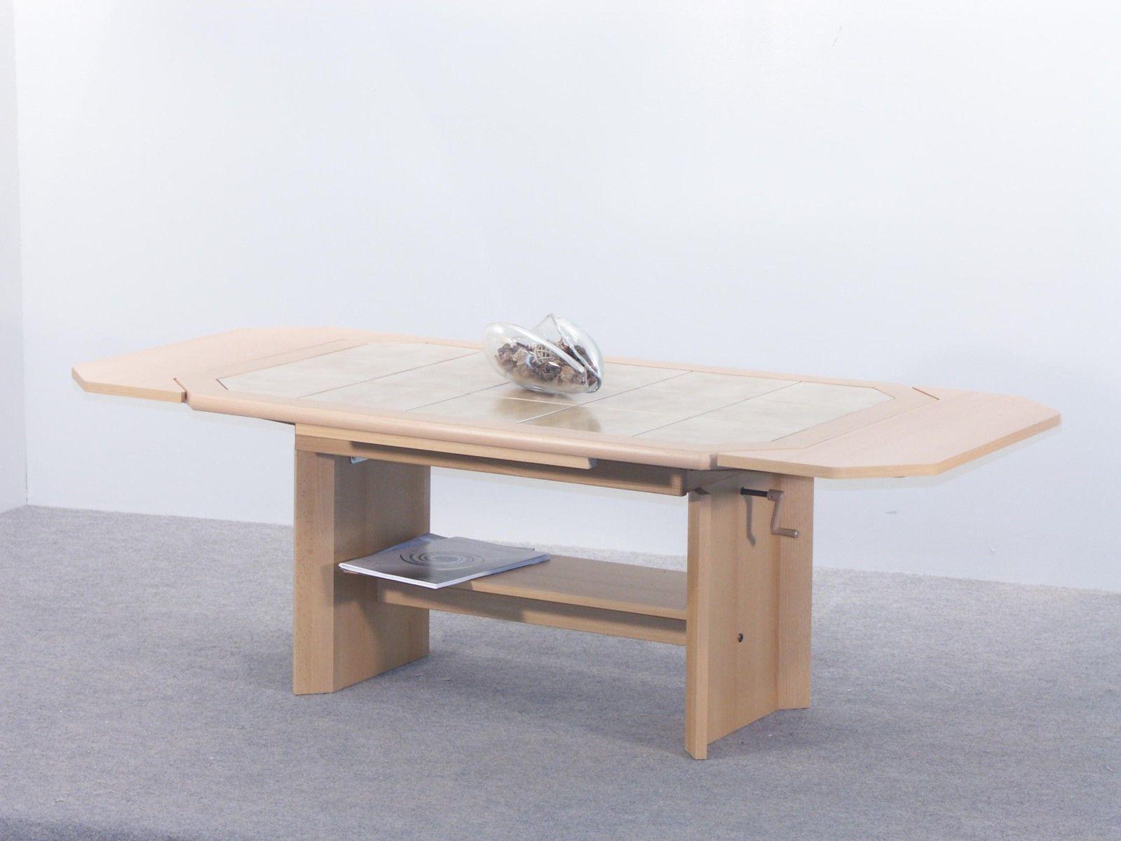 Couchtisch mit zwei funktionen maxi 115157 x 74 cm buche for Couchtisch zara