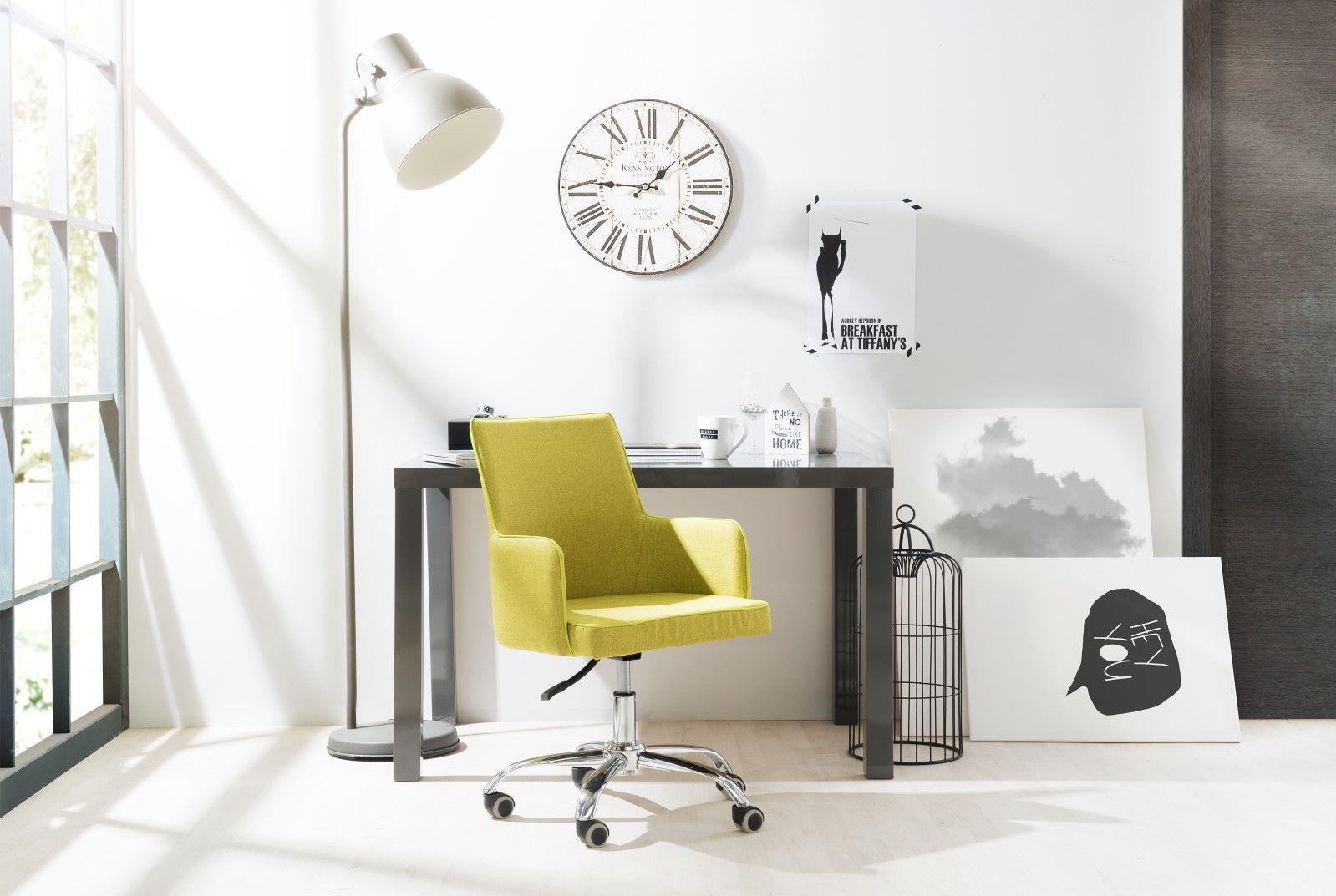 Tisch schreibtisch b rotisch prime dekor hochglanz grau for Schreibtisch hochglanz grau