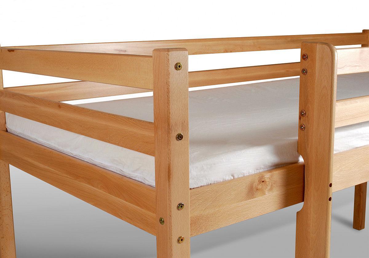 spielbett hochbett buche massiv paler ohne rollrost kaufen bei sylwia lesniewska fun m bel. Black Bedroom Furniture Sets. Home Design Ideas