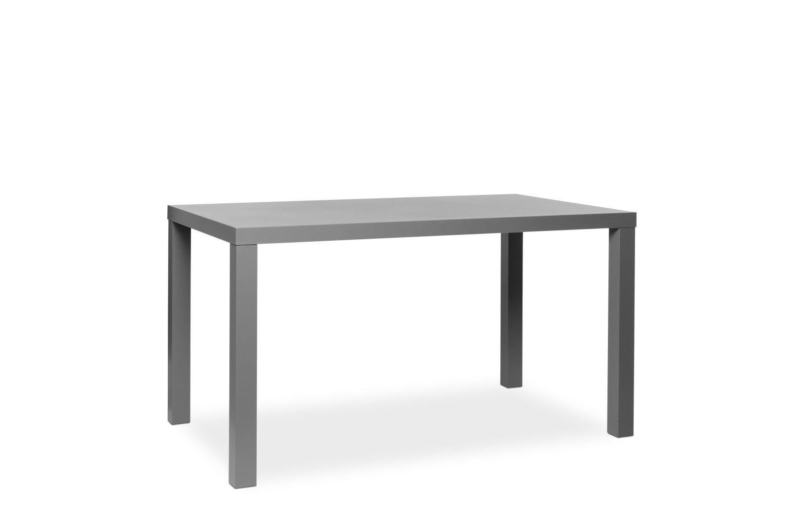 Tisch schreibtisch b rotisch prime dekor hochglanz grau for Tisch schreibtisch