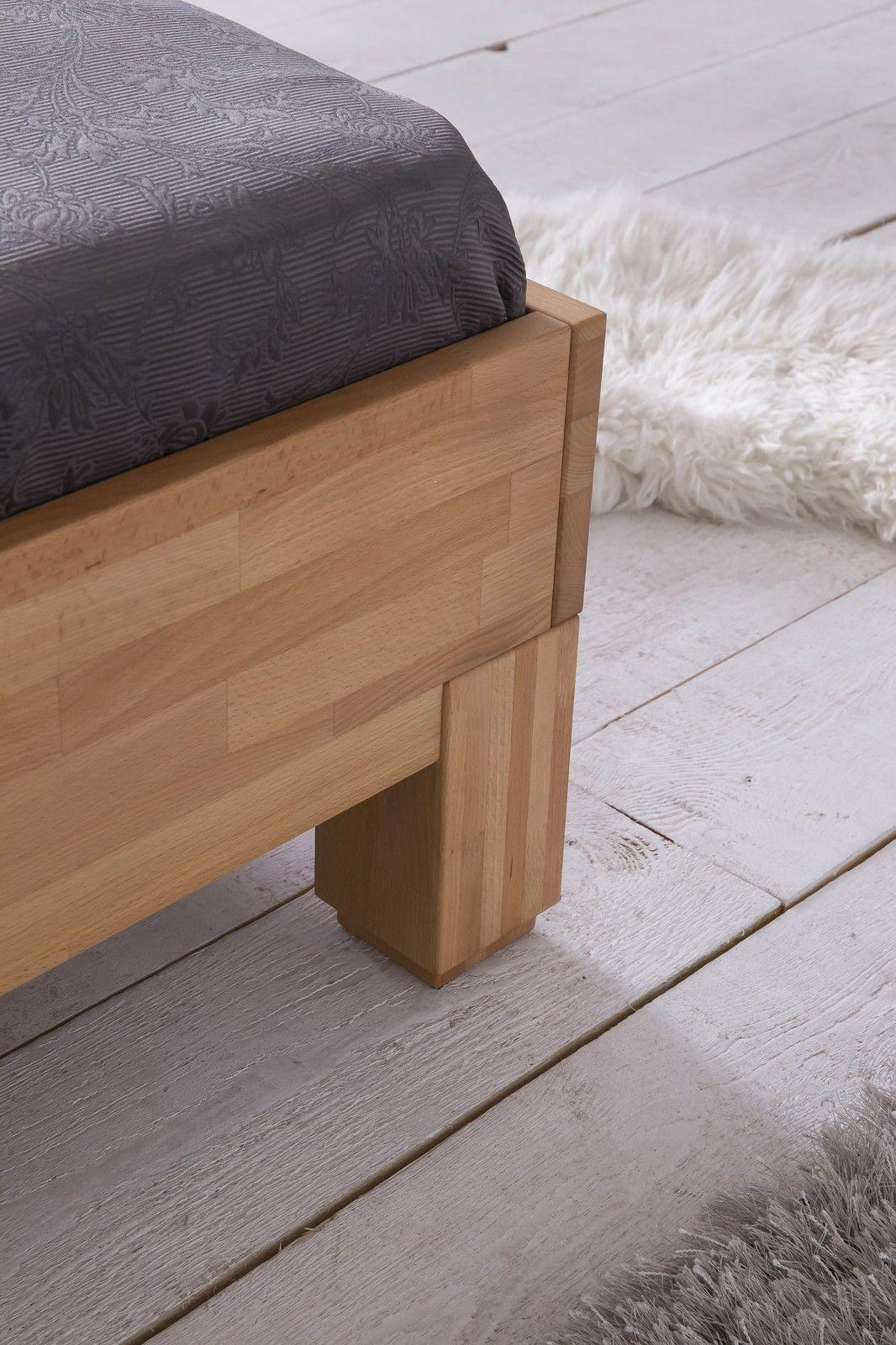 massivholzbett schlafzimmerbett ivo bett kernbuche 160x200 cm kaufen bei sylwia lesniewska. Black Bedroom Furniture Sets. Home Design Ideas