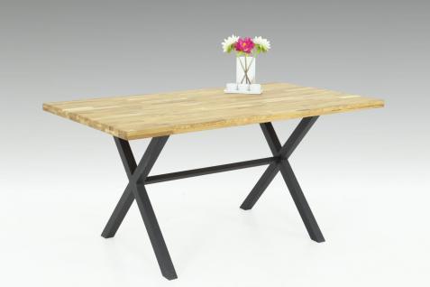 esstische eiche 160x90 online bestellen bei yatego. Black Bedroom Furniture Sets. Home Design Ideas