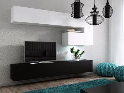 Wohnwand Weiß Matt günstig online kaufen bei Yatego