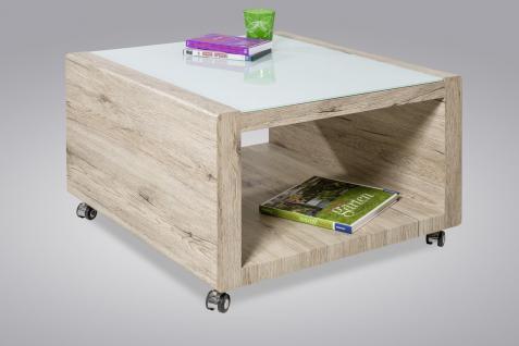 Couchtisch Tisch - RIGA -110 x 60 cm MDF Wildeiche
