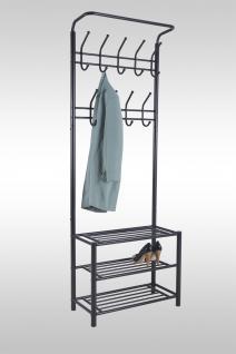 garderoben metall schwarz g nstig kaufen bei yatego. Black Bedroom Furniture Sets. Home Design Ideas