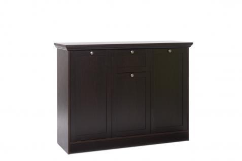 sideboard schwarzbraun online bestellen bei yatego. Black Bedroom Furniture Sets. Home Design Ideas