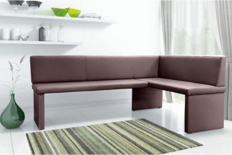 sitzbank gepolstert braun g nstig kaufen bei yatego. Black Bedroom Furniture Sets. Home Design Ideas