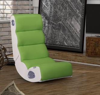 Sessel Soundsessel Gaming Sessel - Tekken - in Grün-Weiss