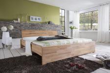 Massivholzbett Schlafzimmerbett - Dalia - Bett Kernbuche 200x200 cm