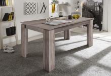 Esstisch Tisch Auszugstisch -DAV -160-200 x 90cm Eiche San Remo Dunkel