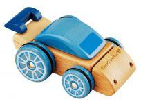 Holzspielzeug - Wandelbares Fahrzeug, mehrfarbig