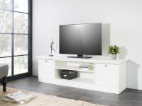 """Lowboard TV-Schrank """" HOME"""" 160x48x45 cm im Landhausstil Weiss"""