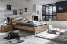 Massivholzbett Schlafzimmerbett - Dalia - Bett Wildeiche 180x200 cm