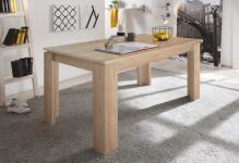 Esstisch Tisch Auszugstisch -DAV -160-200 x 90 cm Edelbuche Natur