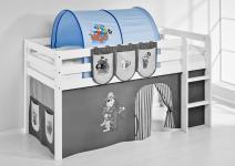 Tunnel Pirat Blau - für Hochbett, Spielbett und Etagenbett