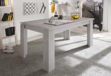 Esstisch Tisch Auszugstisch - DAV - 160-200 x 90 cm Beton Industry
