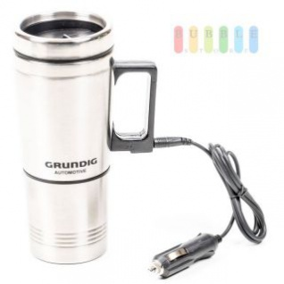 Elektrischer Kaffeebecher Grundig Edelstahl, 0, 5 L, 12V