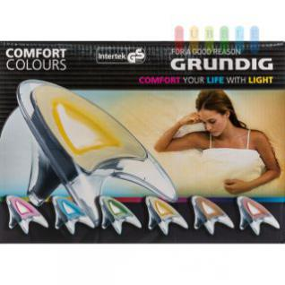 RGB-Stimmungslicht Comfort Colours von Grundig, Fernbedienung, 230V-Adapter, 9 Lichtshows