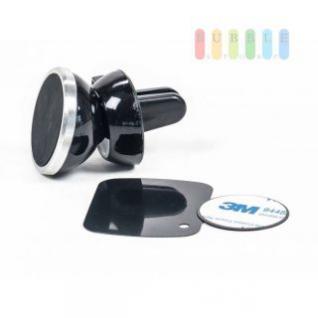 Handyhalter von All Ride, Lüftungshalter mit Magnet, Klick-Montage ohne Bohren, Größe 5, 5 x 3, 5 cm