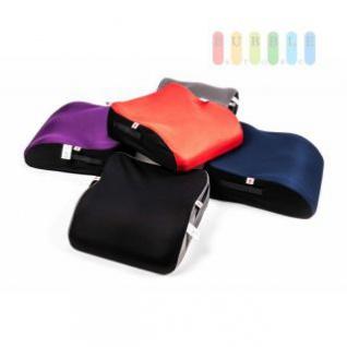 Kindersitz-Erhöhung ALL Ride Bubu, entspricht EU-Norm ECE 44/04 2928 (E20), von 15 bis 36 kg, lieferbar in den Farben Blau, Grau, Rot, Violett oder Schwarz