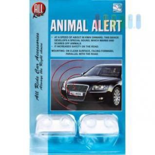 Tierwarner von ALL Ride, Pfeifgeräusch warnt Wildtiere, fahrtwindbetrieben, einfache Montage