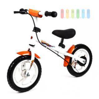 Laufrad weiß für 3 bis 5 Jahre, höhenverstellbar mit wartungsfreien Kunststoffrädern in 10 Zoll