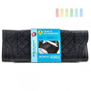 KFZ-Gummimatten-Set, ALL Ride, universal, witterungsbeständig, flexibles Material, 4-teilig, schwarz