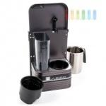 Kaffeemaschine Marlen Kirk für 6 Tassen zur Wandmontage, Alugehäuse, Timer, 24V/500W, 21A