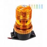 Rundum-/ Warnleuchte von SwedStuff mit 30 LEDs, Aufbaumontage, -30° bis+50° C einsetzbar, Höhe 13 cm, Anschluss 10- 110V, Farbe Orange
