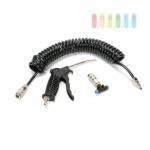 Druckluftpistolen-Set ALL Ride schwarz, 13 Kg pro cm²