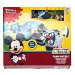 Schaumstoffpuzzle von Sambro, groß, weich, griffig, Teile 25, Größe ca. 33 x 61 cm, Design Disney Junior Mickey Mouse