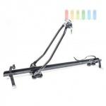 Fahrradträger fürs Dach/Reling universal, Metall, abschließbar, Länge ca. 130 cm