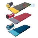 Schlafsack Camp Aktive in Rechteck-Form, Herbergsschlafsack im schicken Design, leicht, komfortabel, lieferbar in den Farben Blau, Rot oder Grau