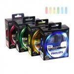 Scheinwerferlampe-H7 Philips ColorVision für farbigen Glanz im Scheinwerfer, PX26D, 12V/55W, lieferbar in verschiedenen Farben