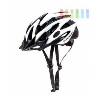 MTB-Fahrradhelm Dunlop für Radfahrer, Skater, Eisläufer und Skateboarder, entspricht DIN EN 1078, lieferbar in den Größen S, M und L, in silber